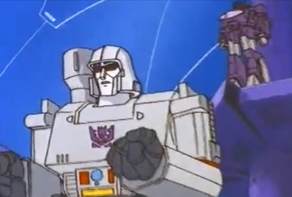 Megatron gives Shockwave authority over Cybertron