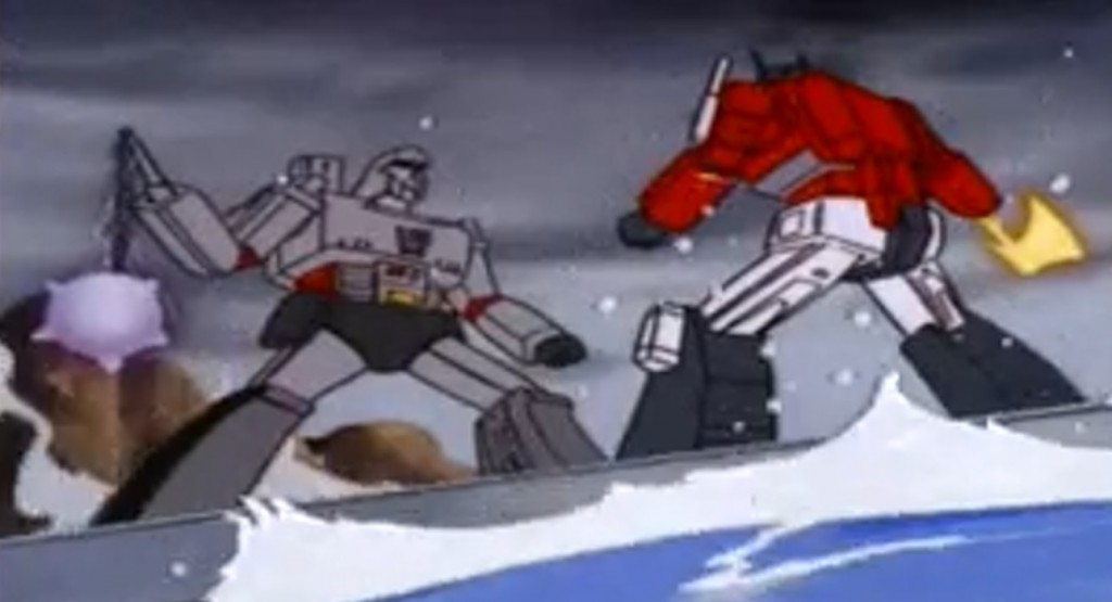 Megatron vs. Optimus Prime