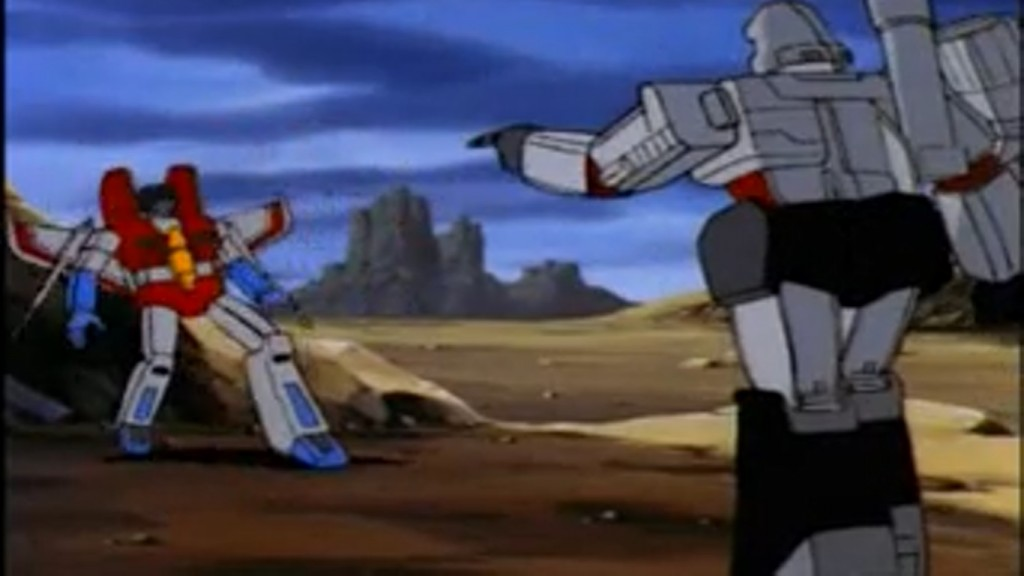 Megatron goes after Starscream