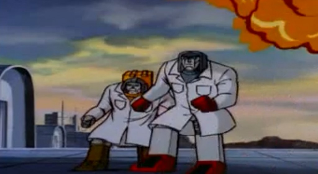 Autobots in lab coats!