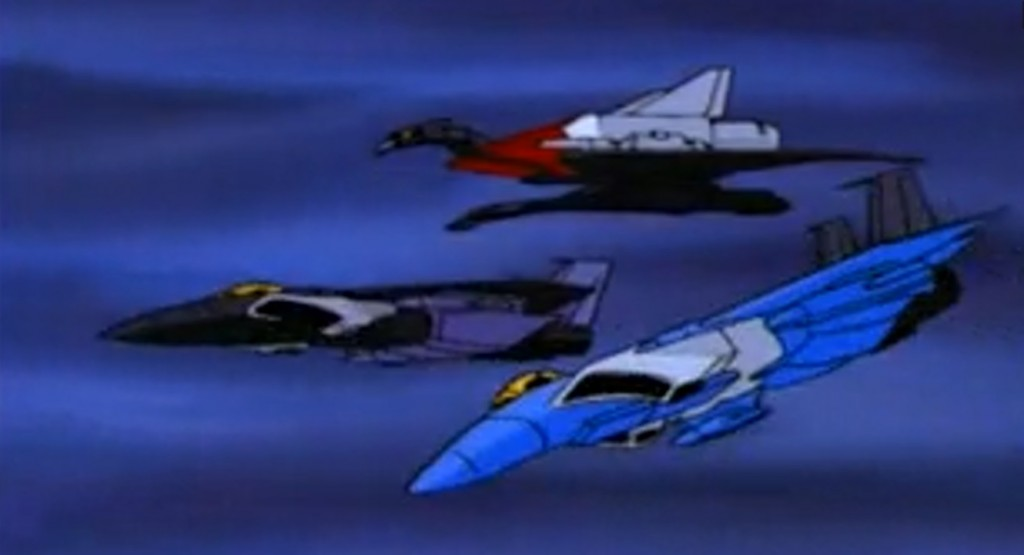 Skywarp, Thundercracker and Laserbeak