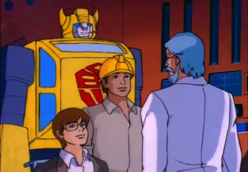 Chip, Bumblebee, Spike and Dr. Alkazar
