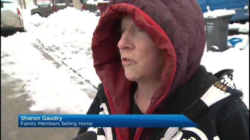 Sharon Gaudry: Family Members Selling Home