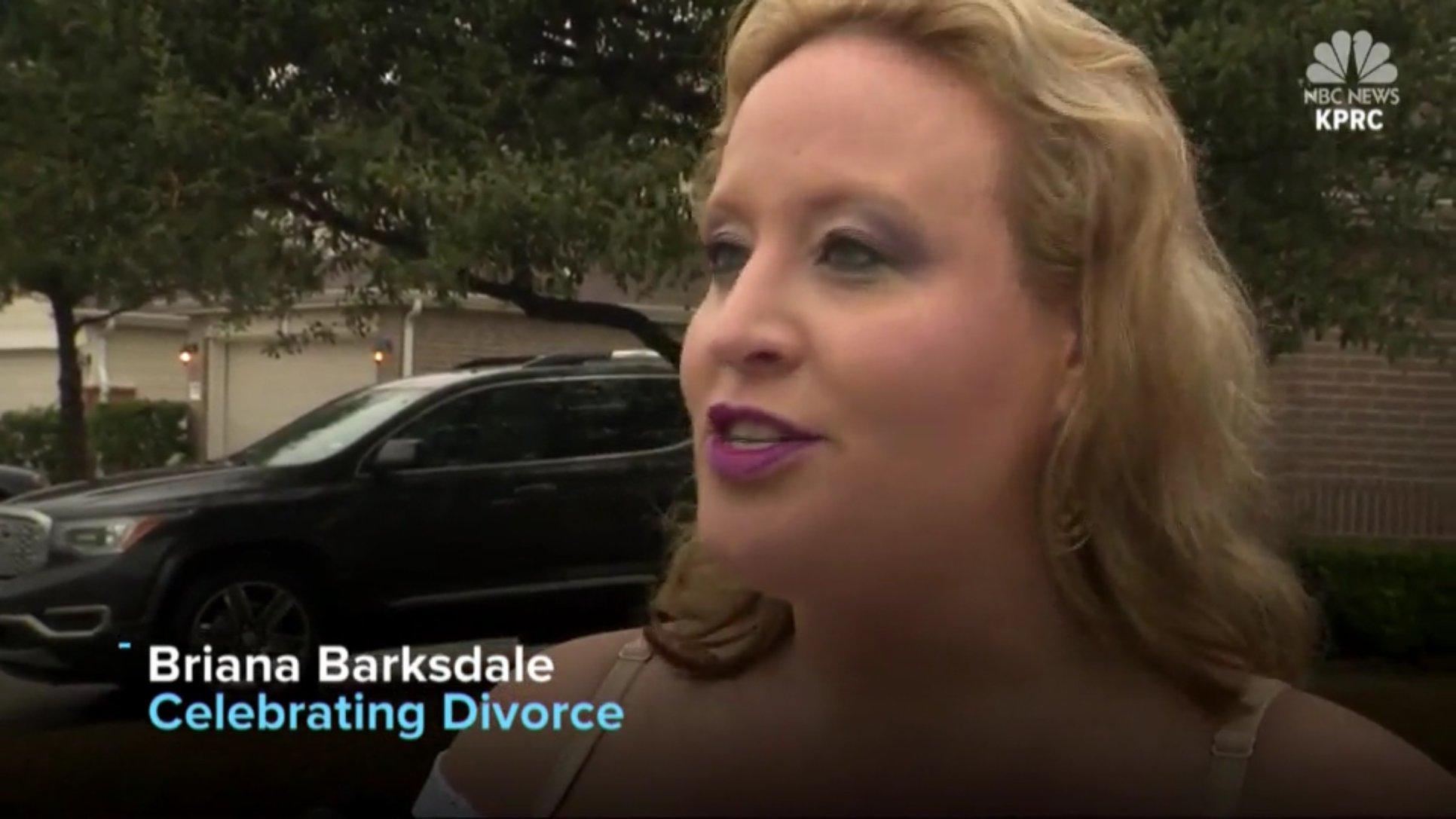 Briana Barksdale: Celebrating Divorce