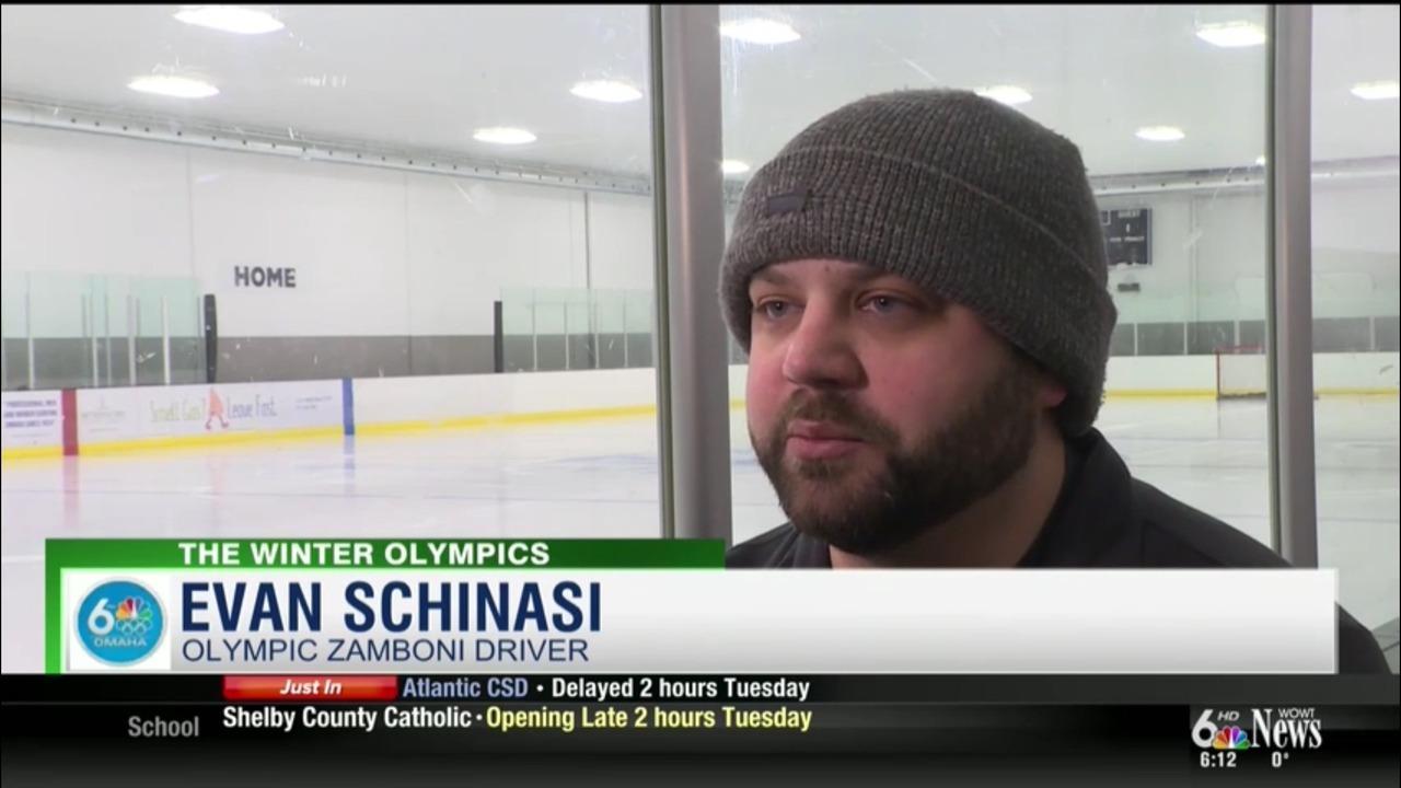 Evan Schinasi: Olympic Zamboni Driver