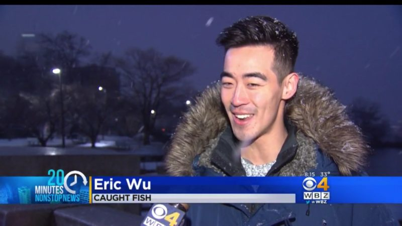 Eric Wu: Caught Fish