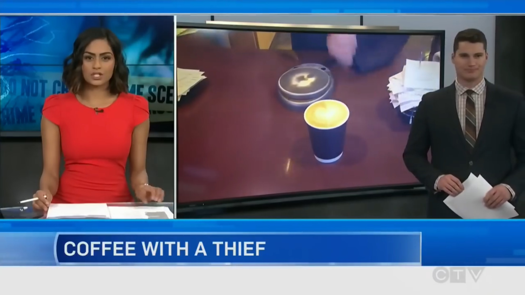 Coffee With A Thief