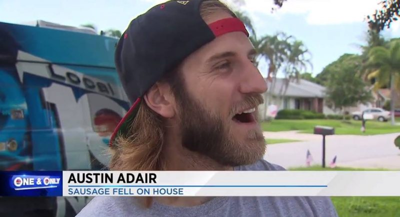 Austin Adair: Sausage Fell On House