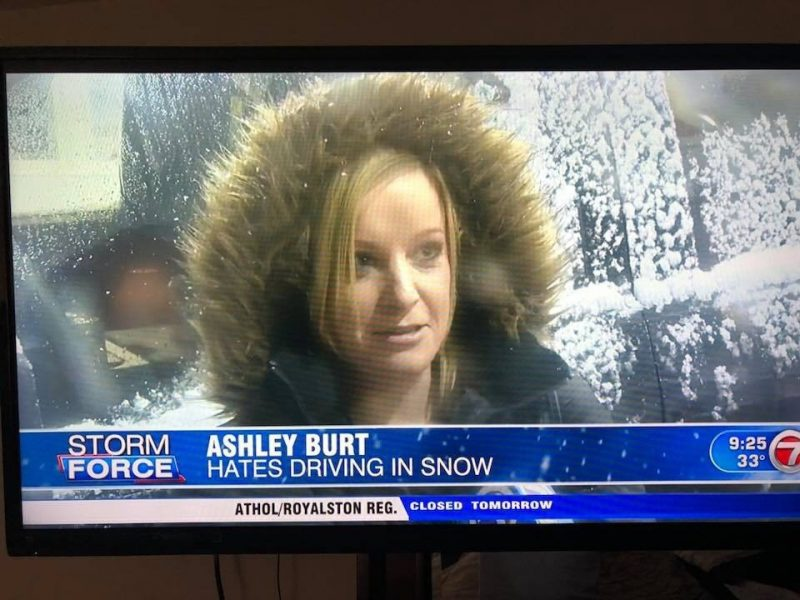 Ashley Burt: Hates Driving In Snow