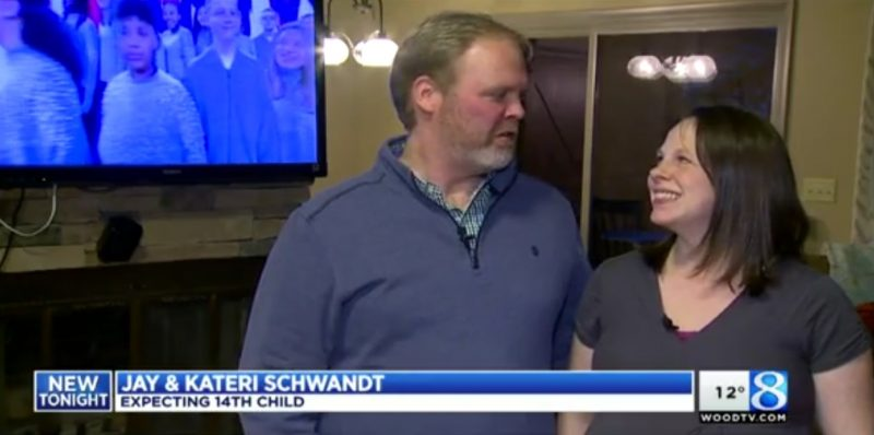 Jay & Kateri Schwandt: Expecting 14th Child