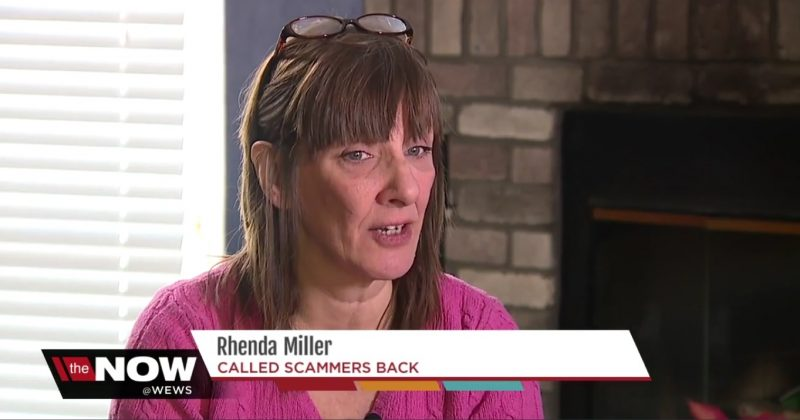 Rhenda Miller: Called Scammers Back
