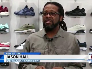 Jason Hall: Veteran Sneakerhead