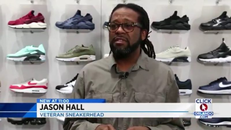 Jason Hall: Veteran Sneakerhead