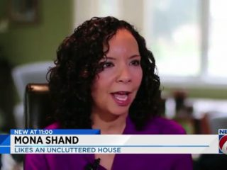 Mona Shand: Likes An Uncluttered House