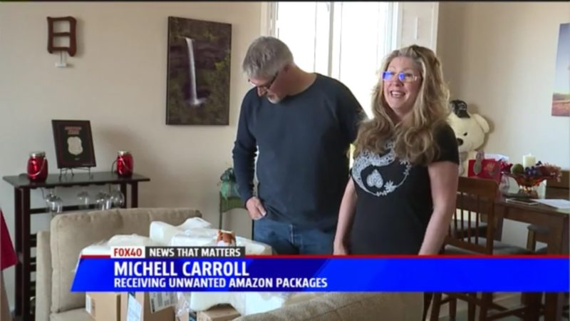 Michell Carroll: Receiving Unwanted Amazon Packages