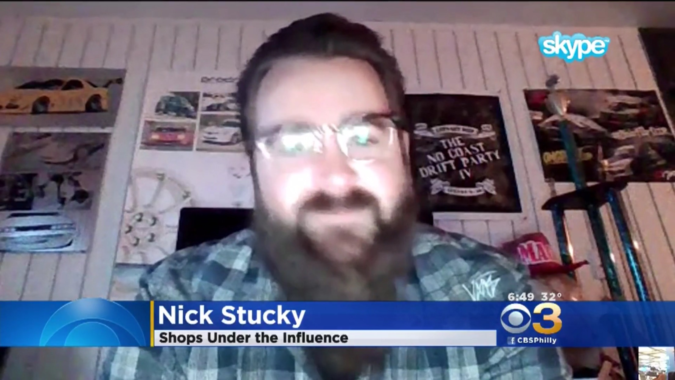 Nick Stuckey: Shops Under The Influence