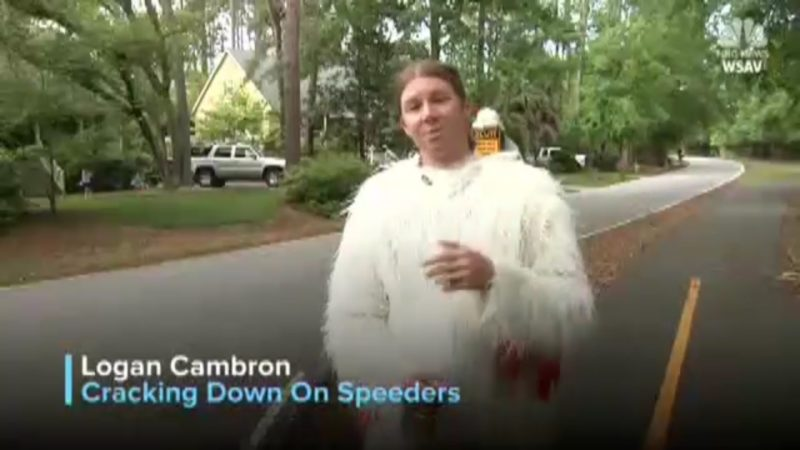 Logan Cambron: Cracking Down On Speeders