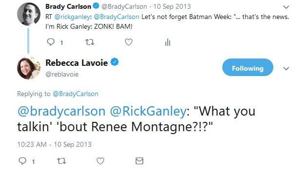 "Reblavoie: ""What you talkin' 'bout Renee Montagne?!?"""