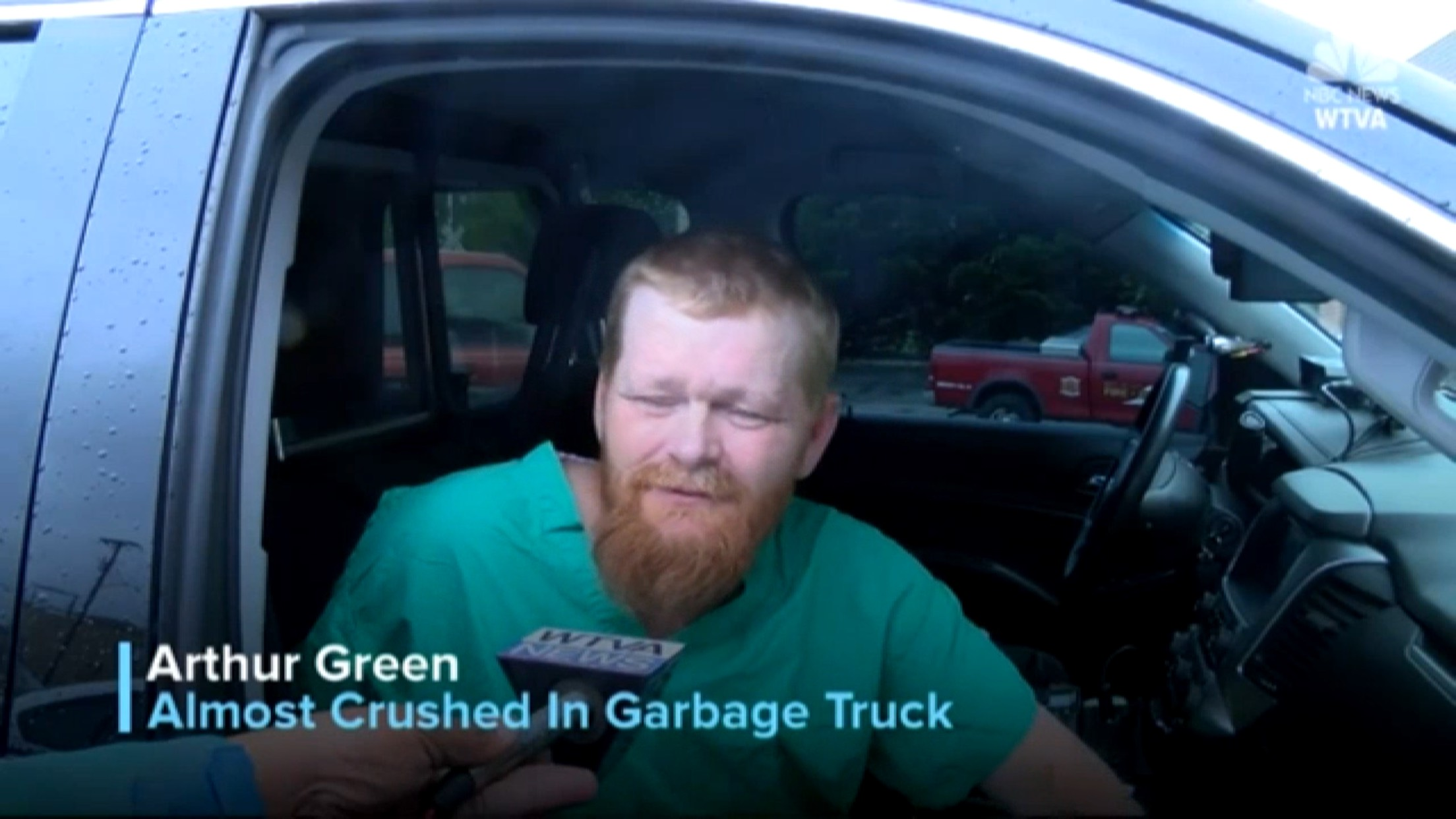 Arthur Green: Almost Crushed In Garbage Truck