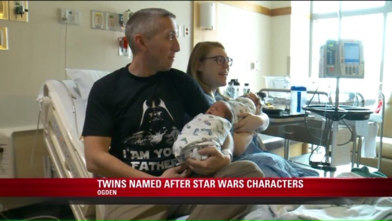 Twins Named After Star Wars Characters