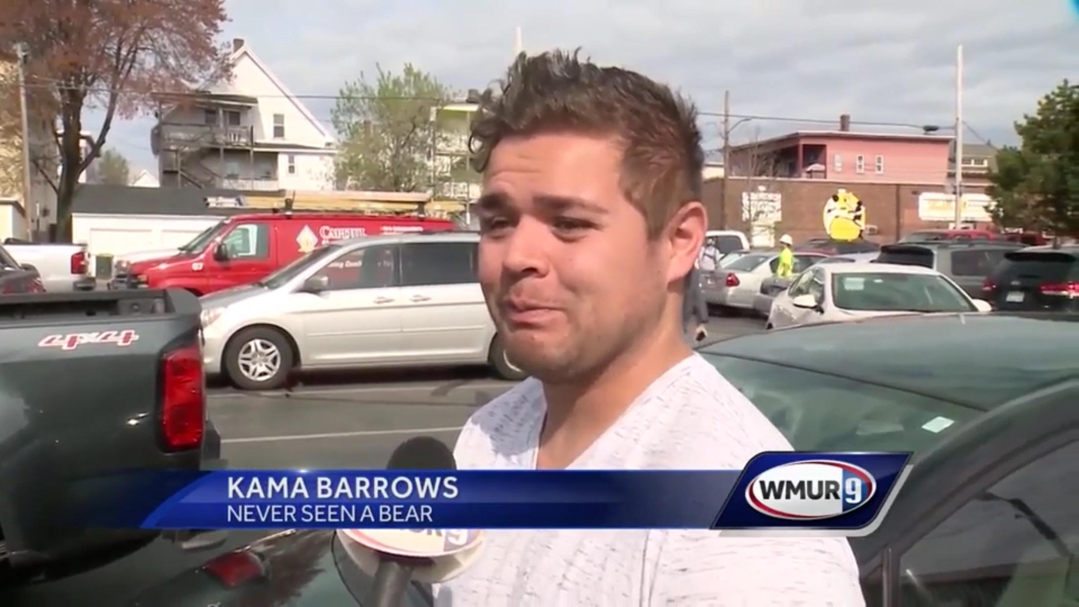 Kama Barrows: Never Seen A Bear
