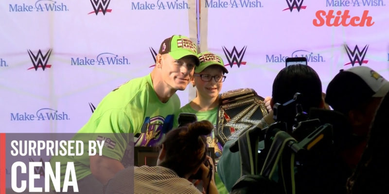 Surprised By Cena