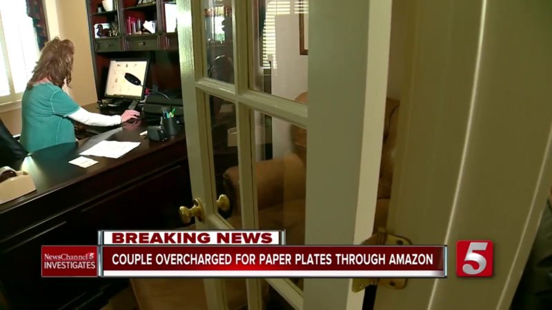 Couple Overcharged For Paper Plates Through Amazon