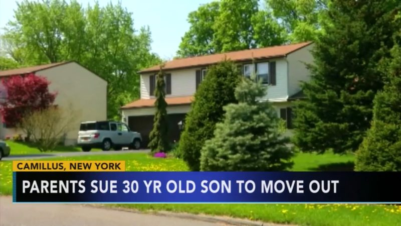 Parents Sue 30 Year Old Son To Move Out