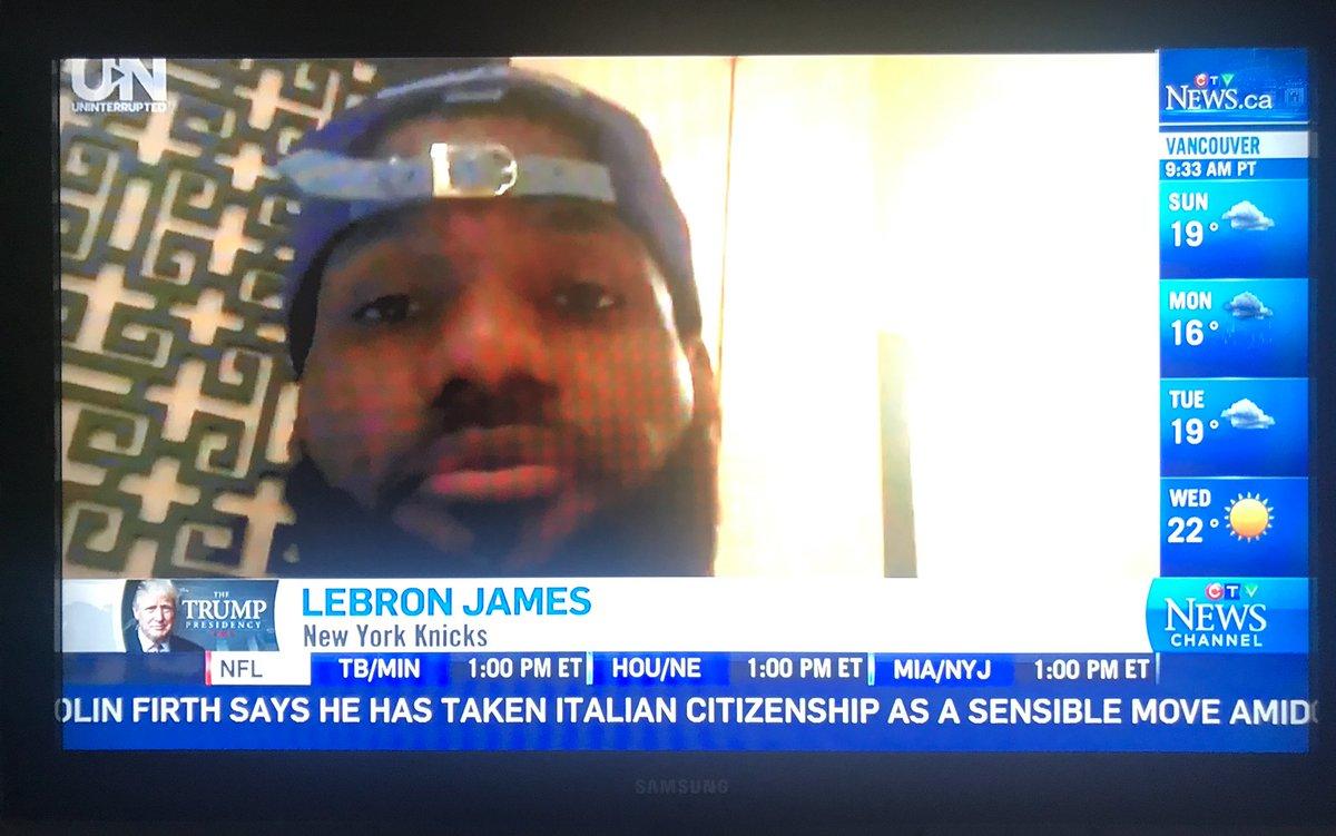 """Lebron James: New York Knicks"""