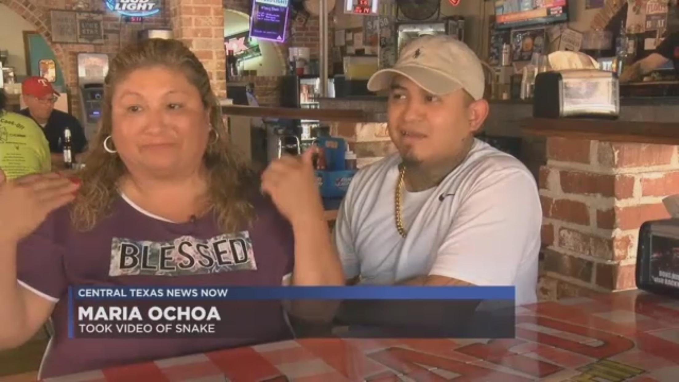 Maria Ochoa: Took Video Of Snake