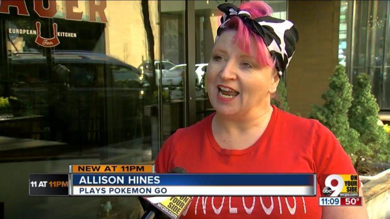 Allison Hines: Plays Pokemon Go