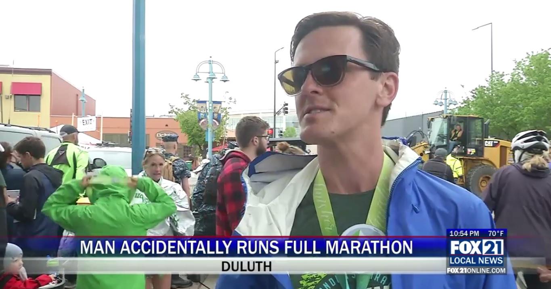 Man Accidentally Runs Full Marathon