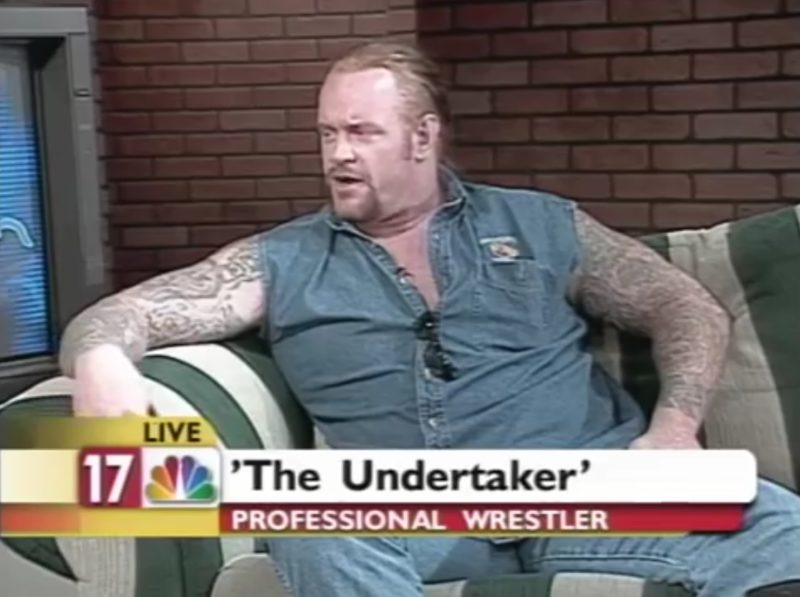 The Undertaker: Professional Wrestler