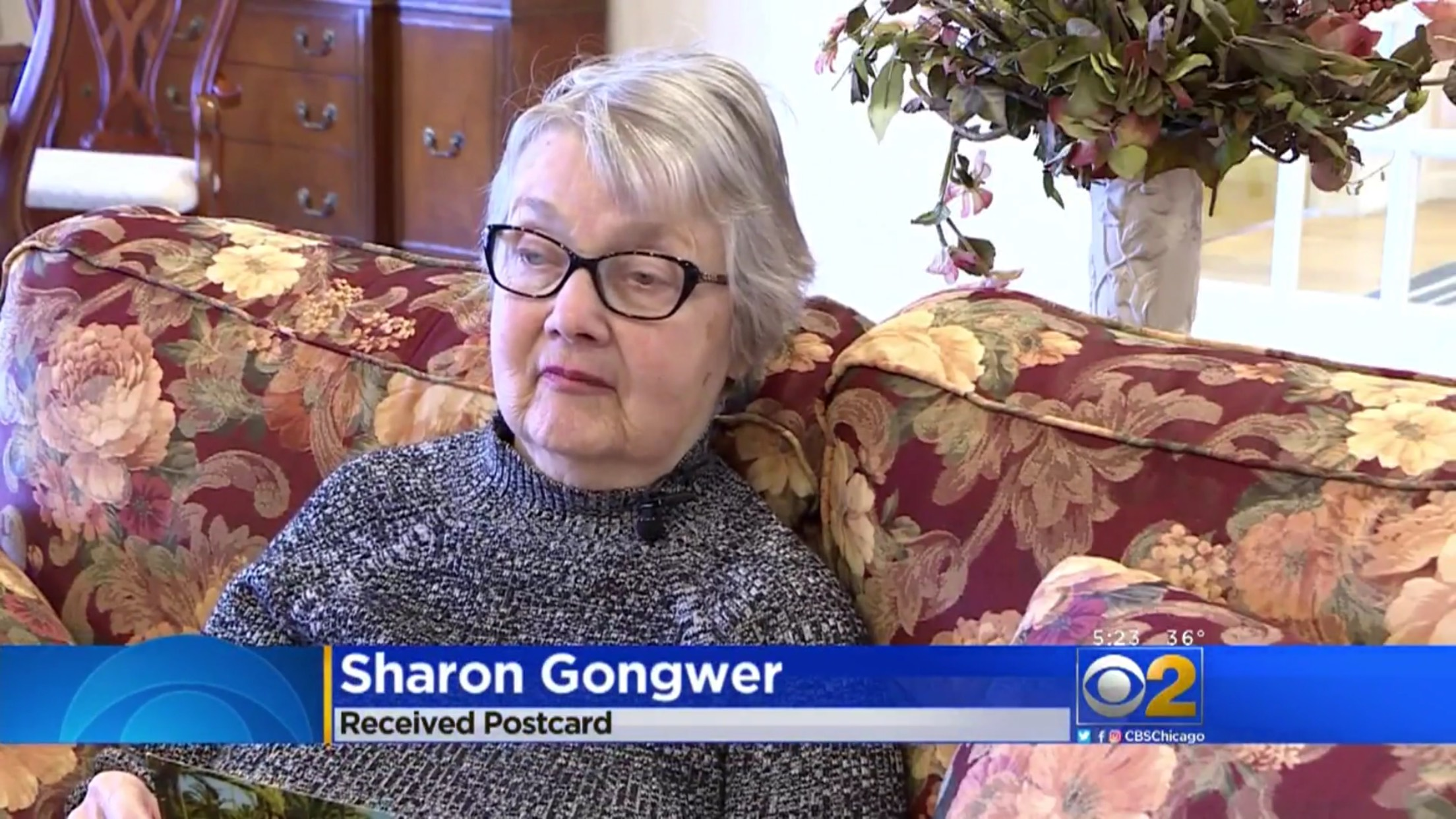Sharon Gongwer: Received Postcard