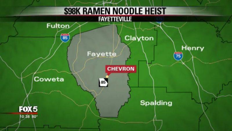 $98K Ramen Noodle Heist