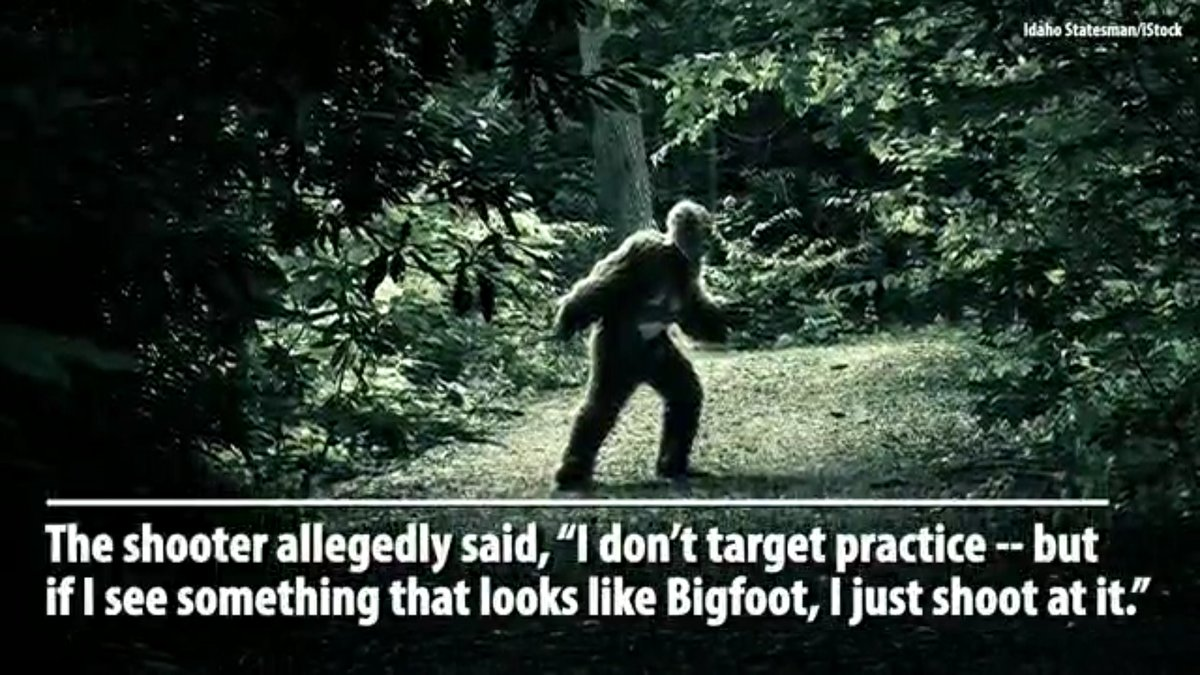Bigfoot chyron