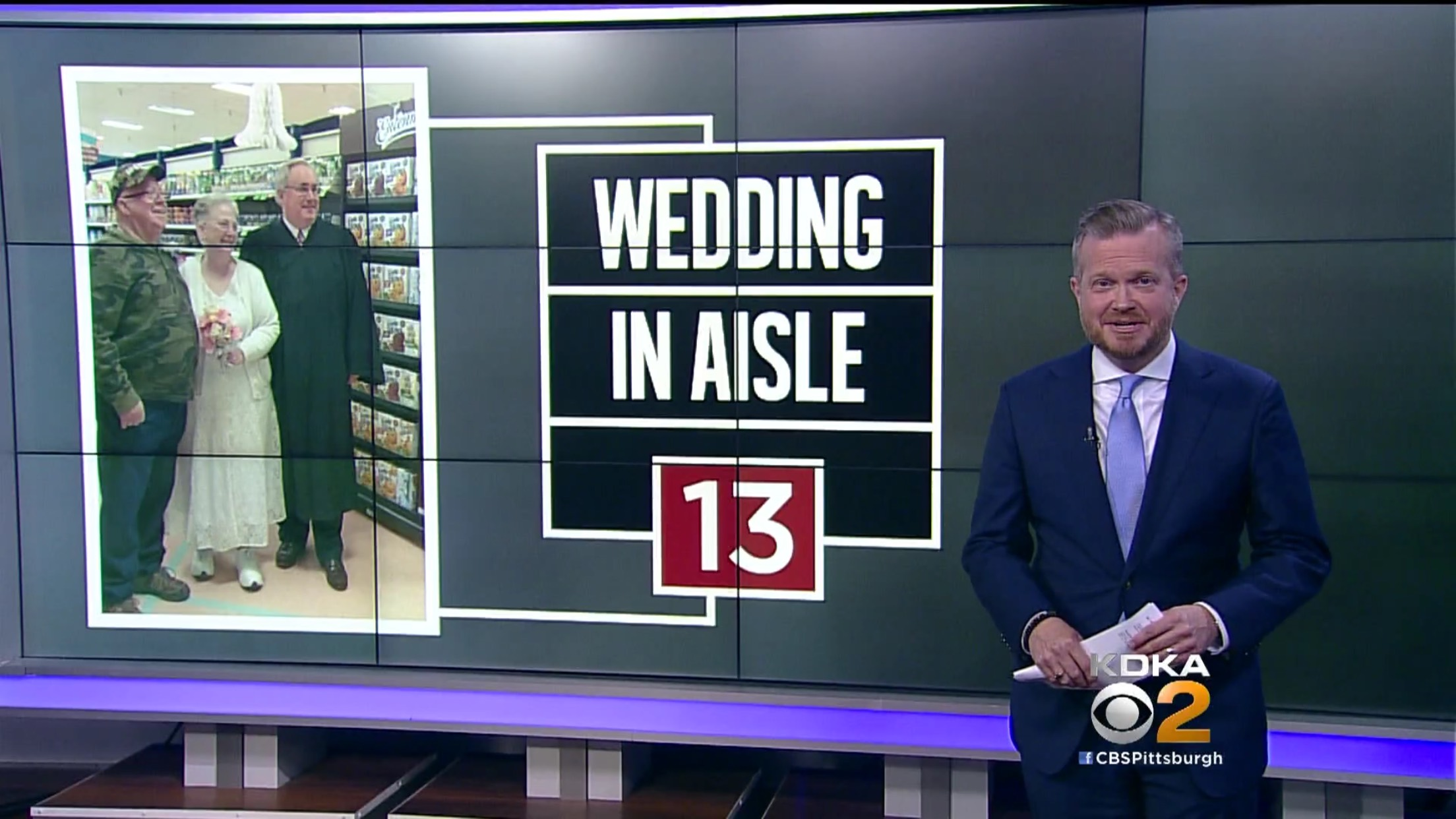 Wedding in Aisle 13