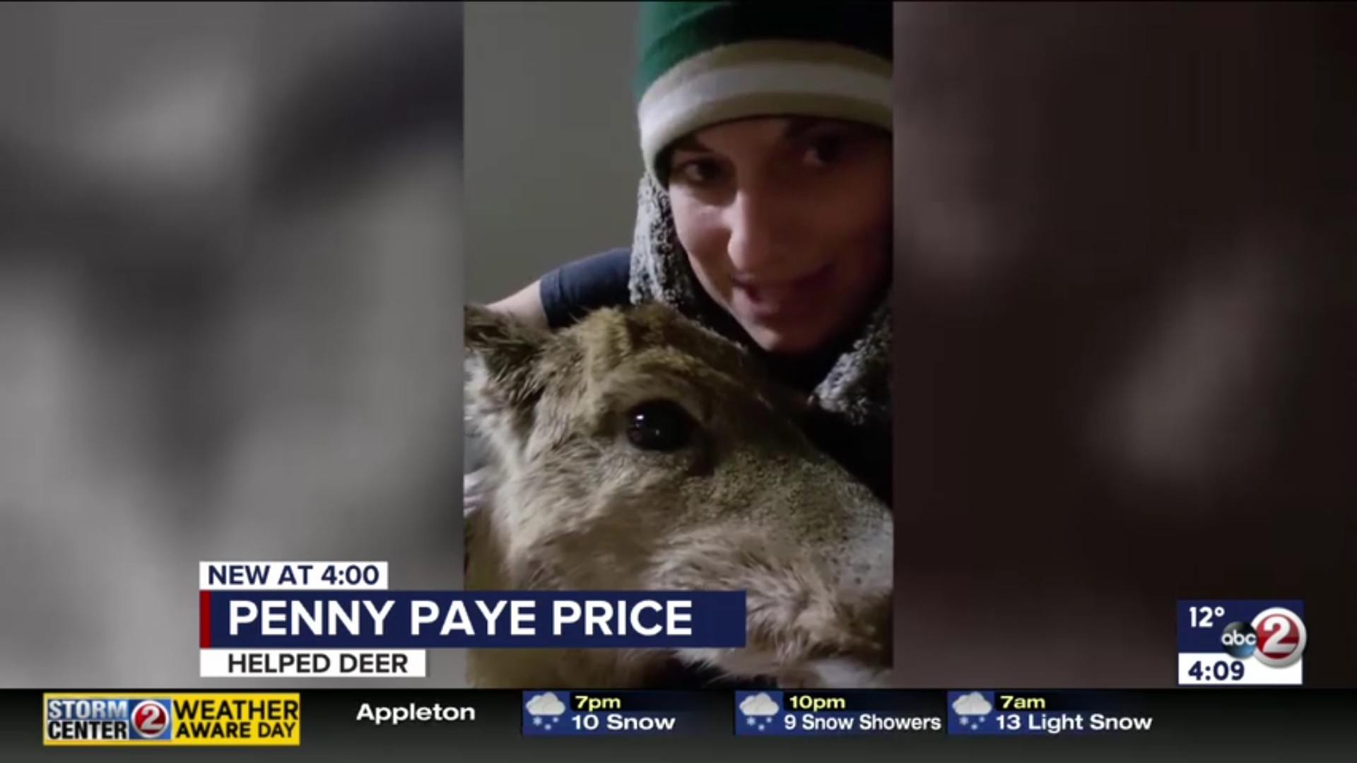 Penny Paye Price: Helped Deer