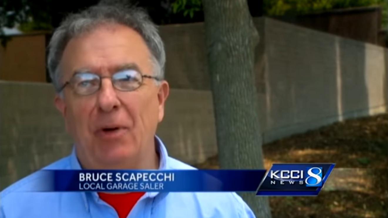 Bruce Scapecchi: Local Garage Saler
