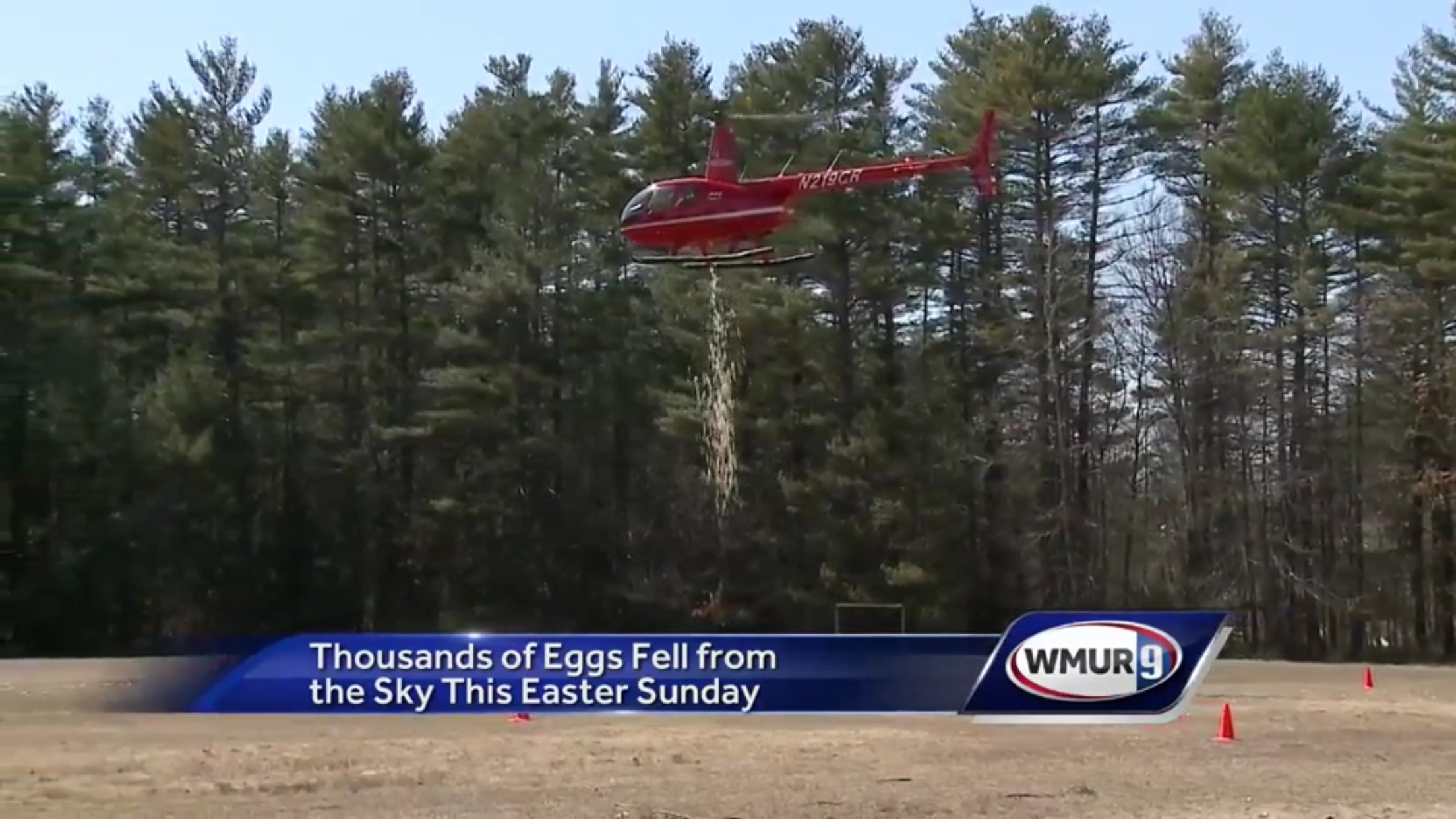 Thousands of Eggs Fell From The Sky This Easter Sunday