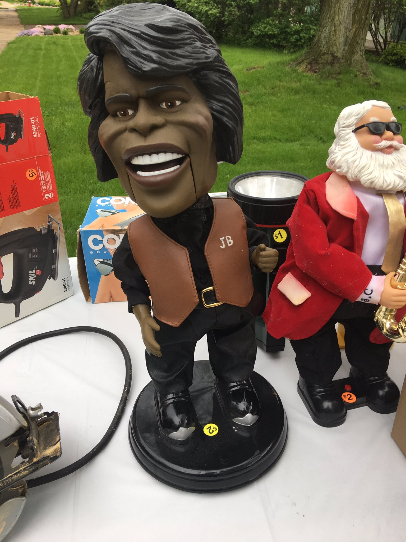 James Brown bobblehead