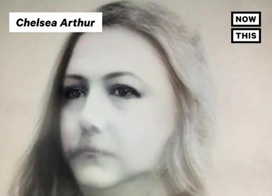 """Chester Arthur as """"Chelsea Arthur"""""""
