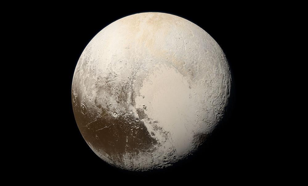 Pluto (via NASA)