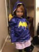 Two year old is Batgirl