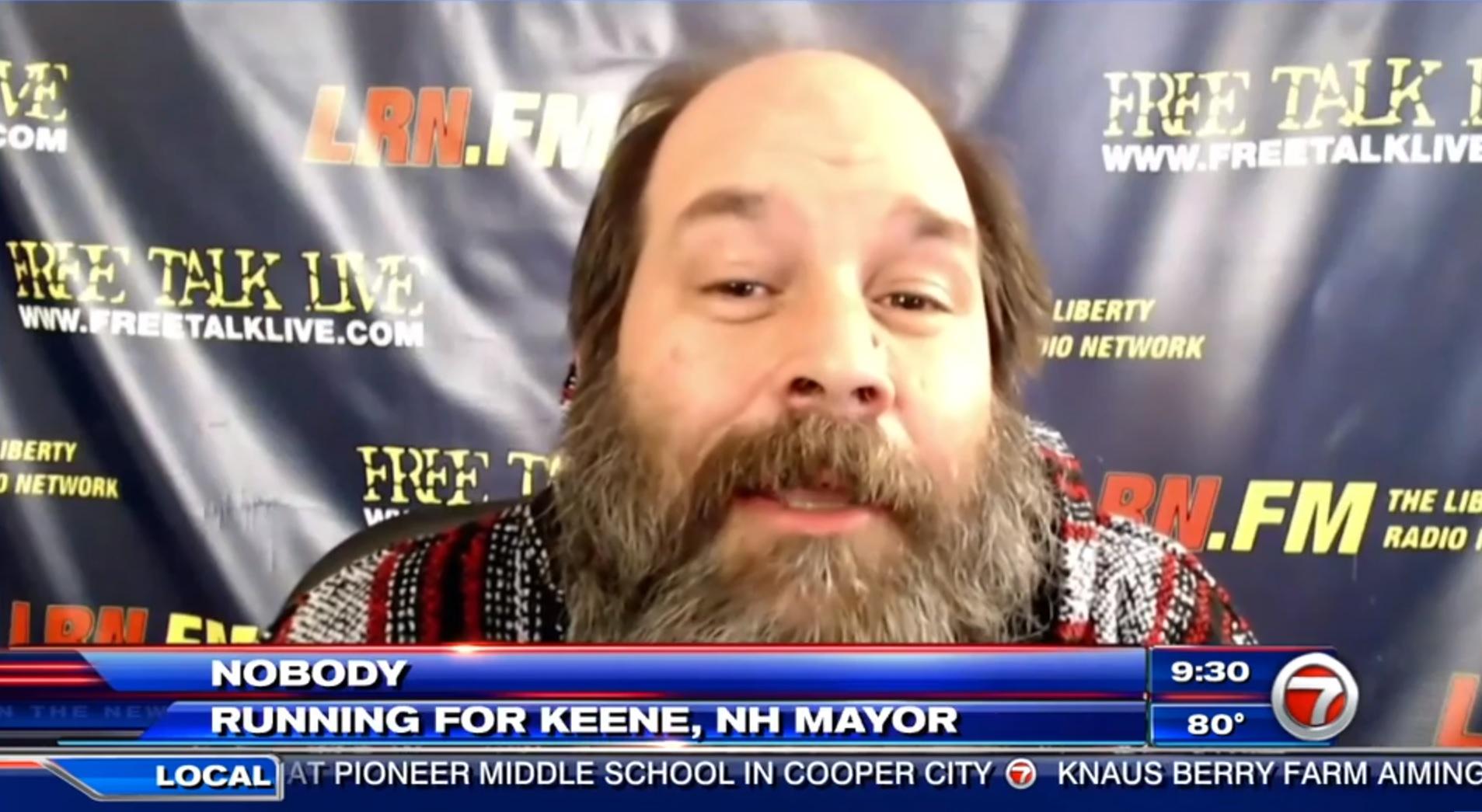 Nobody: Running for Keene, NH Mayor