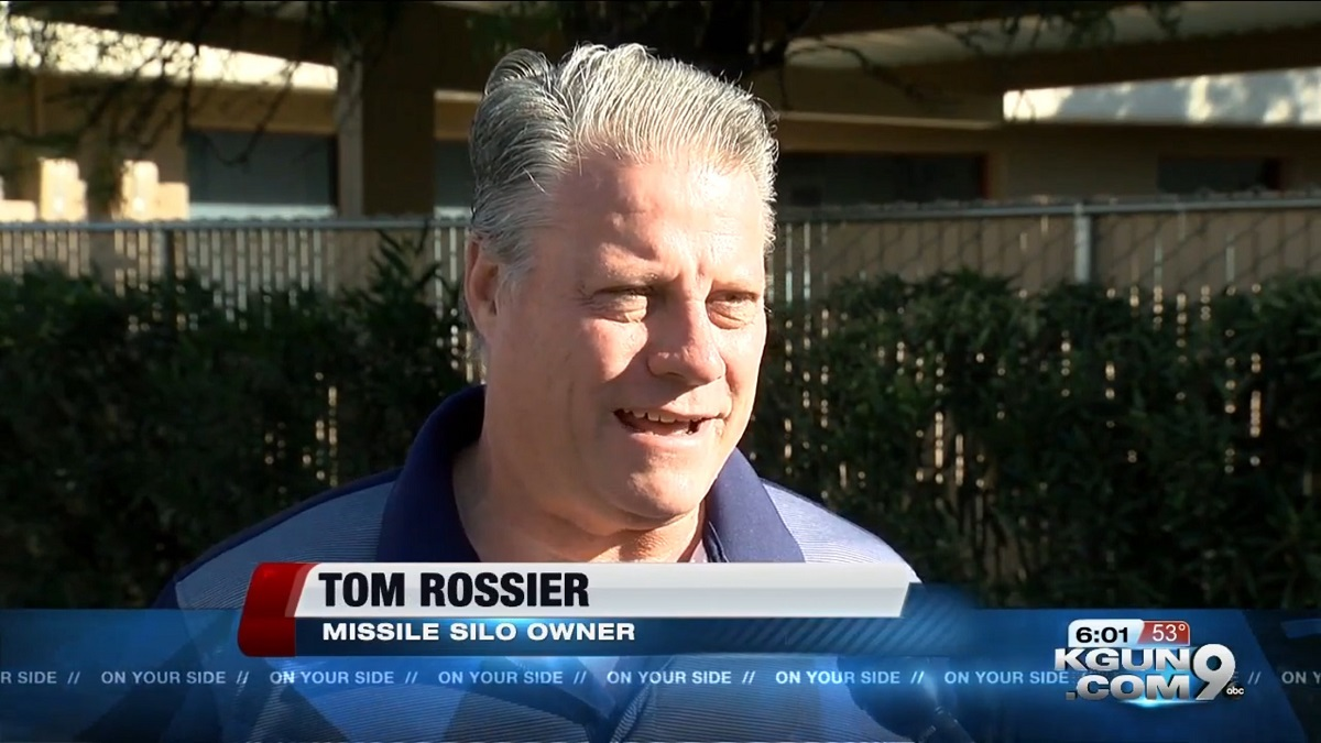 Tom Rossier: Missile Silo Owner