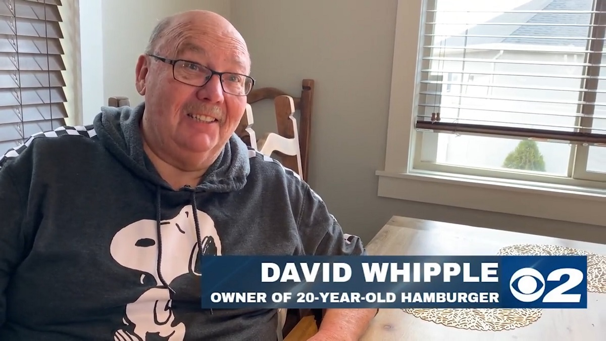 David Whipple: Owner of 20-Year-Old Hamburger