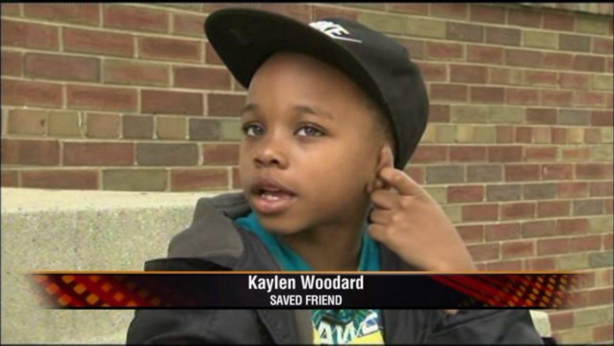 Kaylen Woodard: Saved Friend