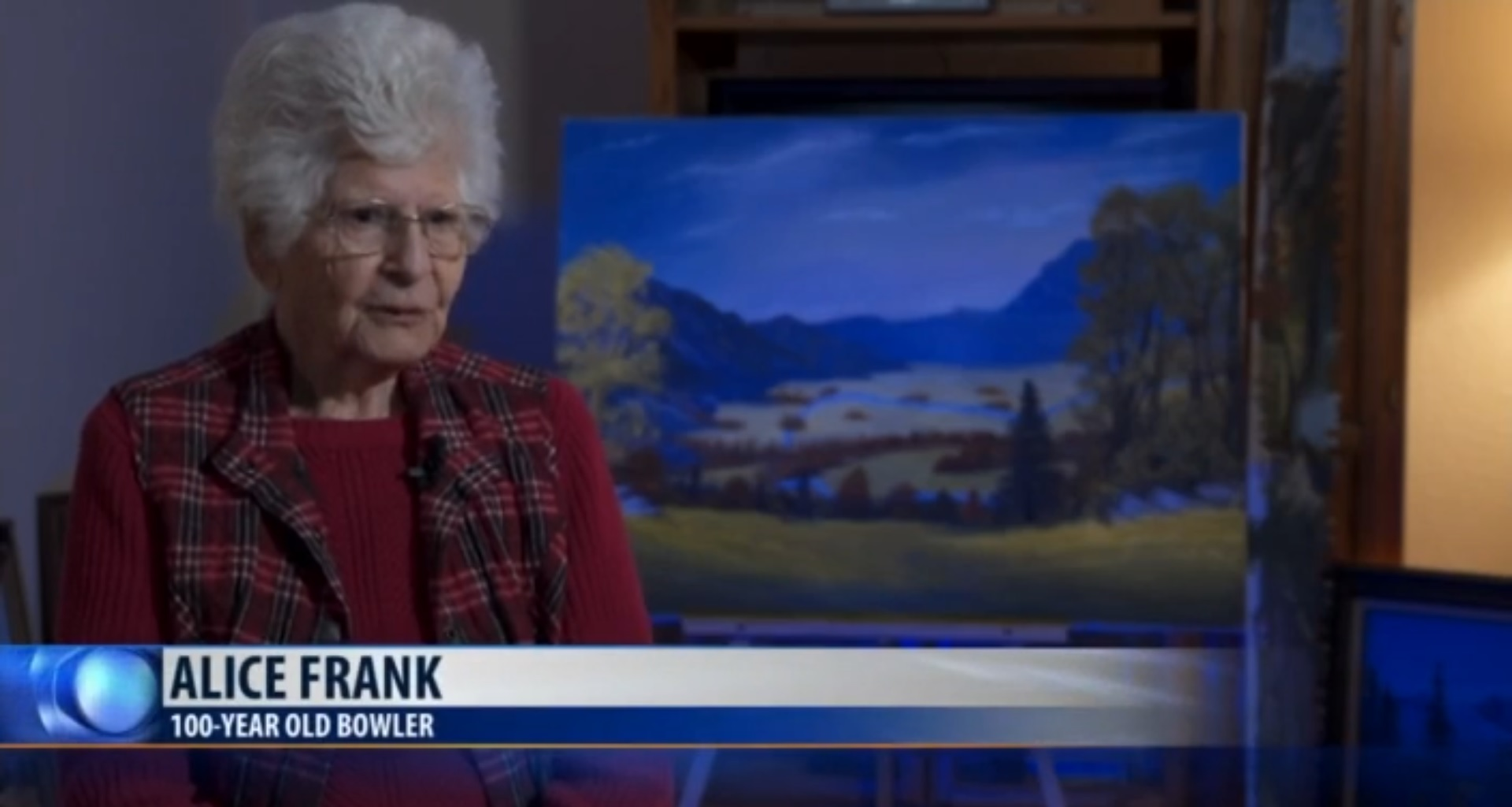 Alice Frank: 100 Year Old Bowler