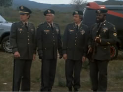The A-Team in uniform